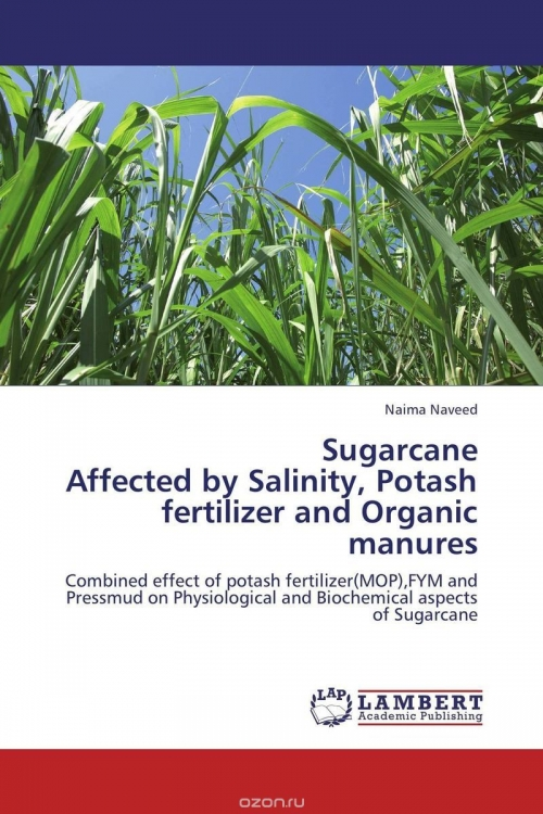 Sugarcane Affected by Salinity, Potash fertilizer and Organic manures
